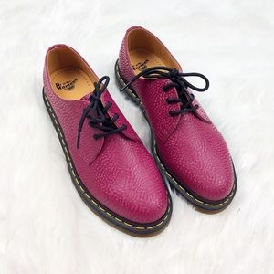 NWT Dr. Martens Rare Beet Red Shoes